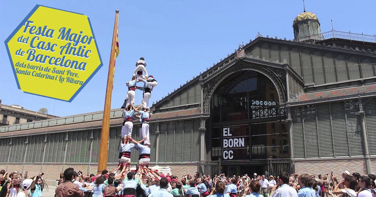 Fiesta del Born y Sant Pere en Barcelona