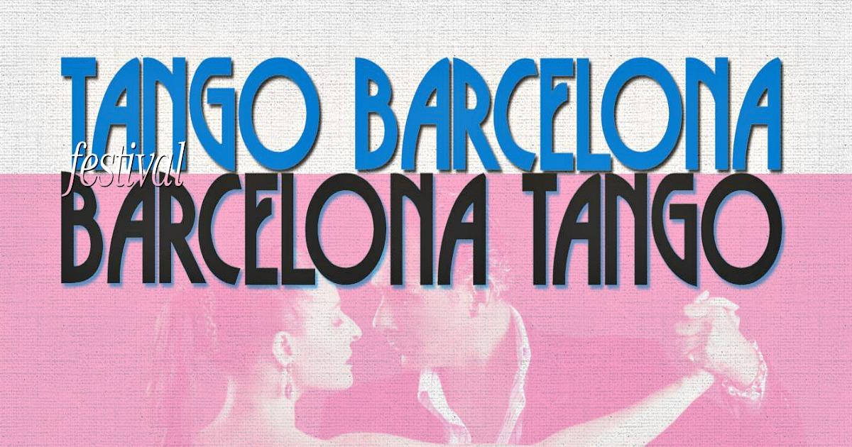 Tangofestival, dansa med passion i Barcelona!