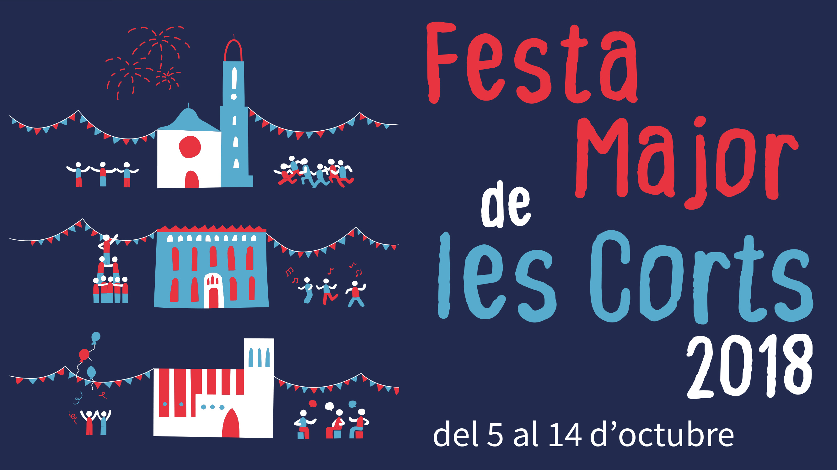 Fiestas de Les Corts 2017