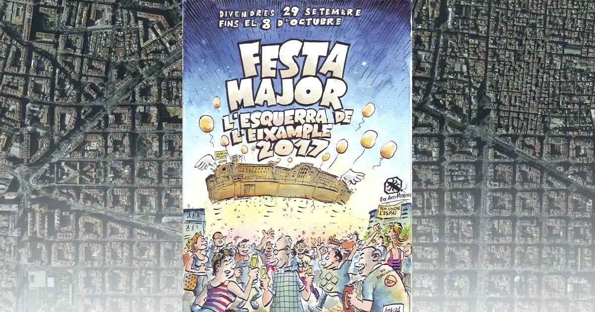 Fiestas de l'Eixample Esquerra 2017