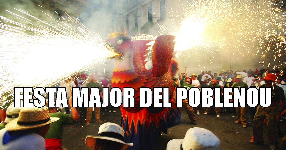 Fiestas del Poblenou 2018