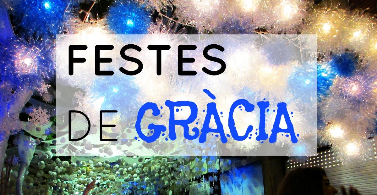 Fiestas de Gracia 2015