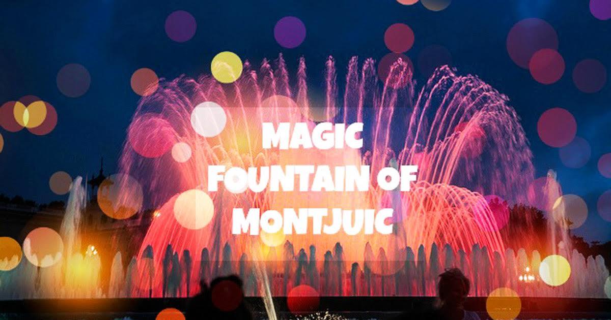 Магические фонтаны на Монжуик