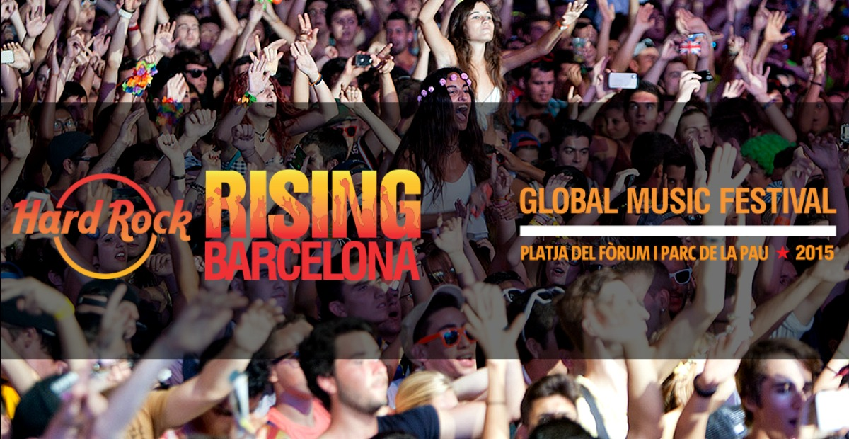 Hard Rock Rising Barcelona 2015