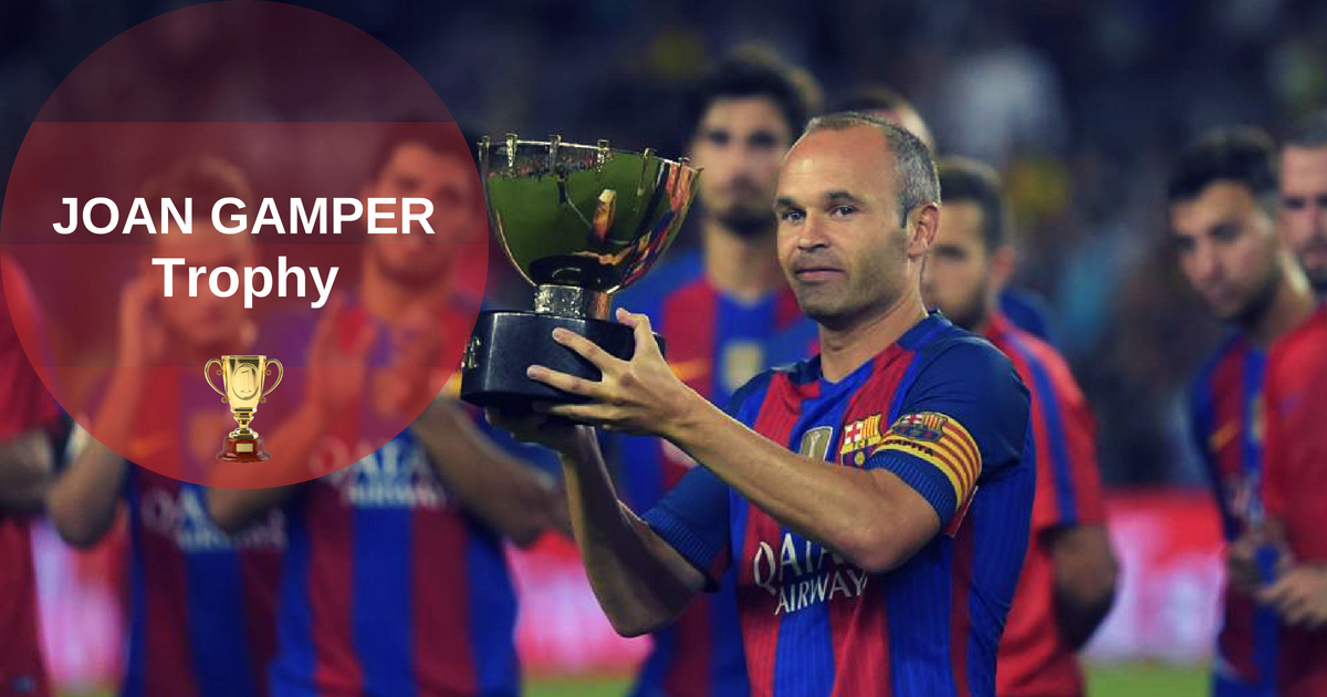 Joan Gamper Trophy 2015