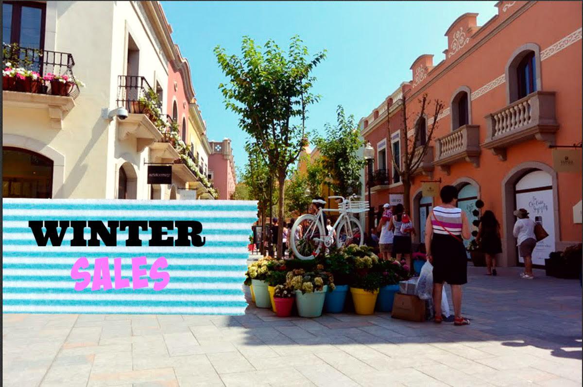 Saldi invernali sotto il sole di Barcellona