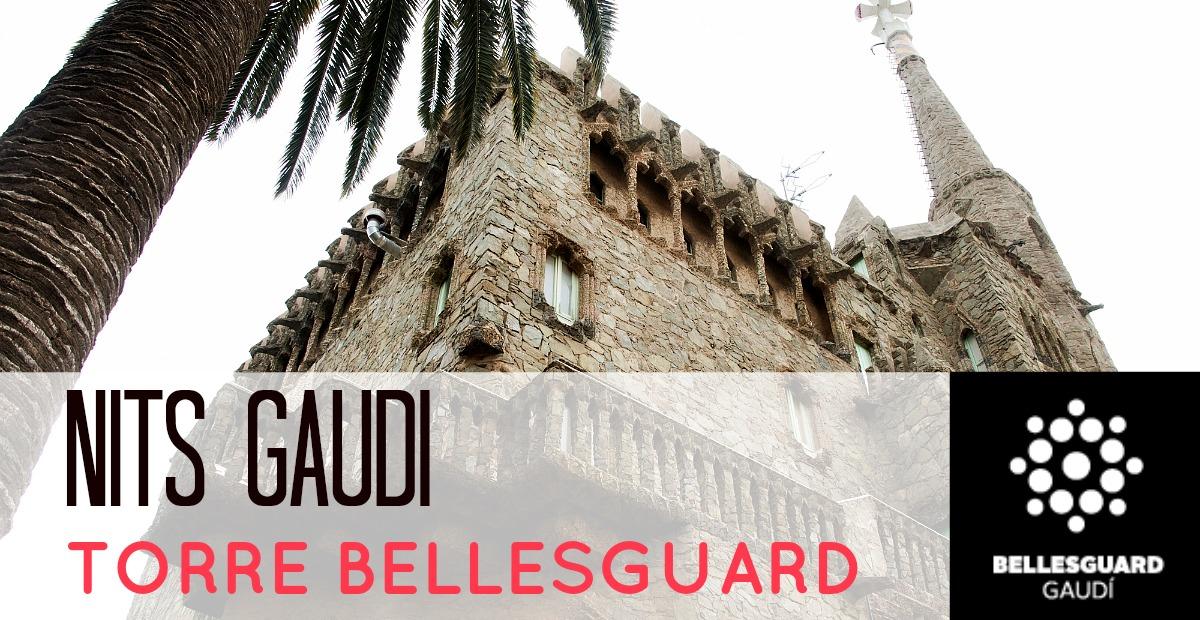 Nits Gaudí en Torre Bellesguard 2015