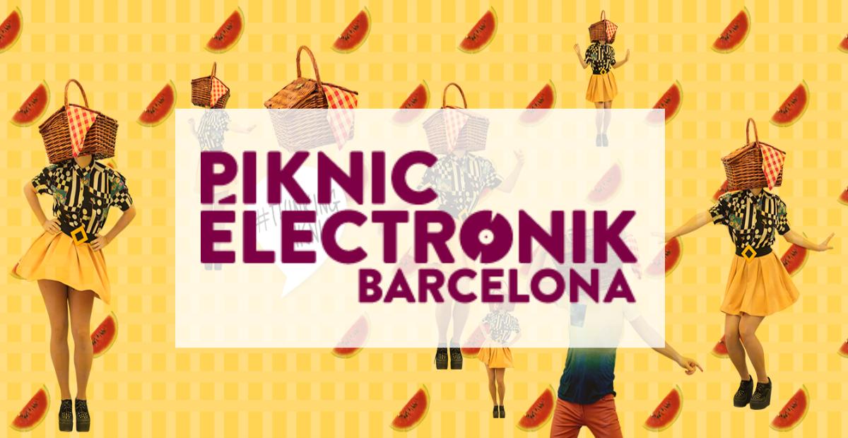 Pique-Nique électronique de Barcelone!