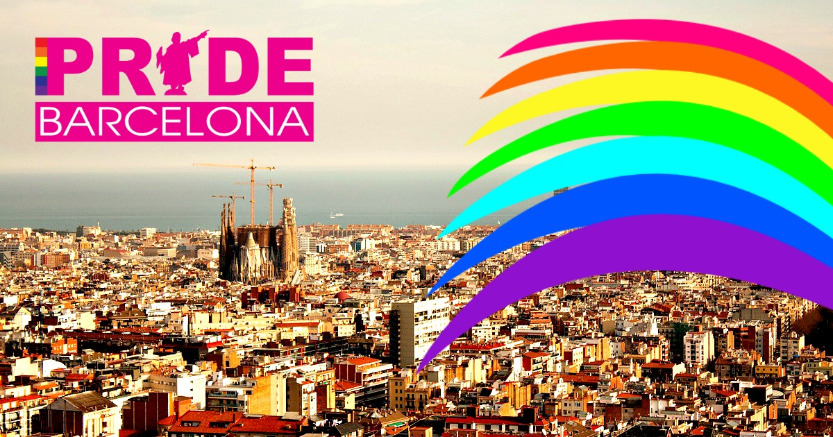 Gay pride in barcelona