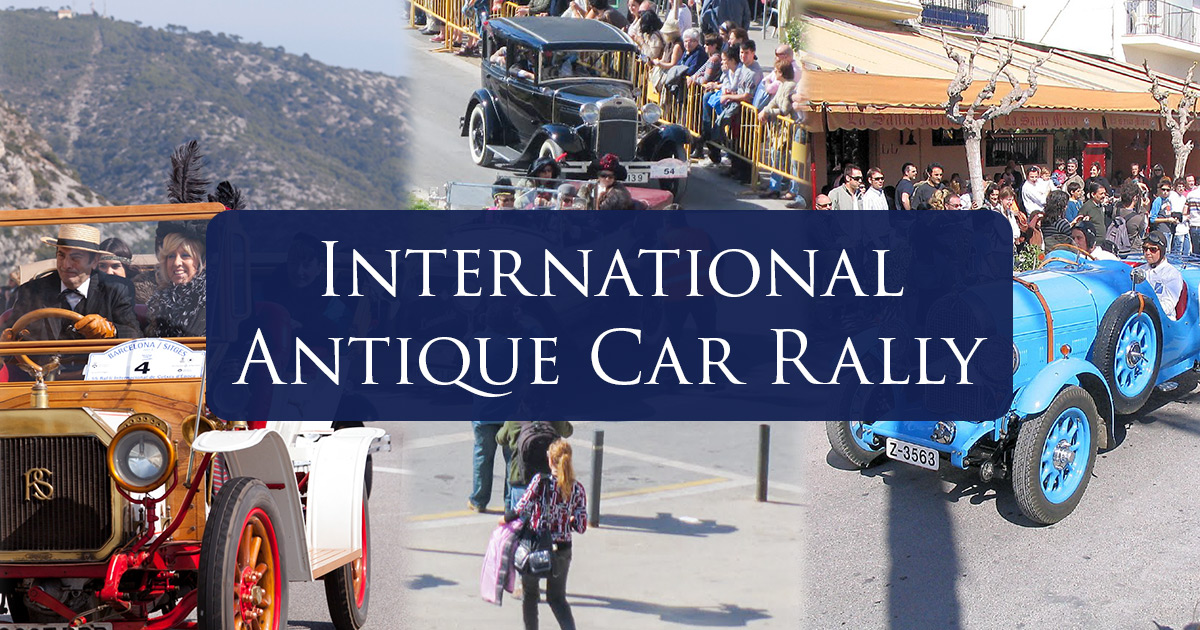 Barcelona - Sitges International Vintage Car Rally
