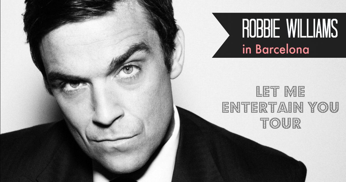 Robbie Williams live i Palau Sant Jordi
