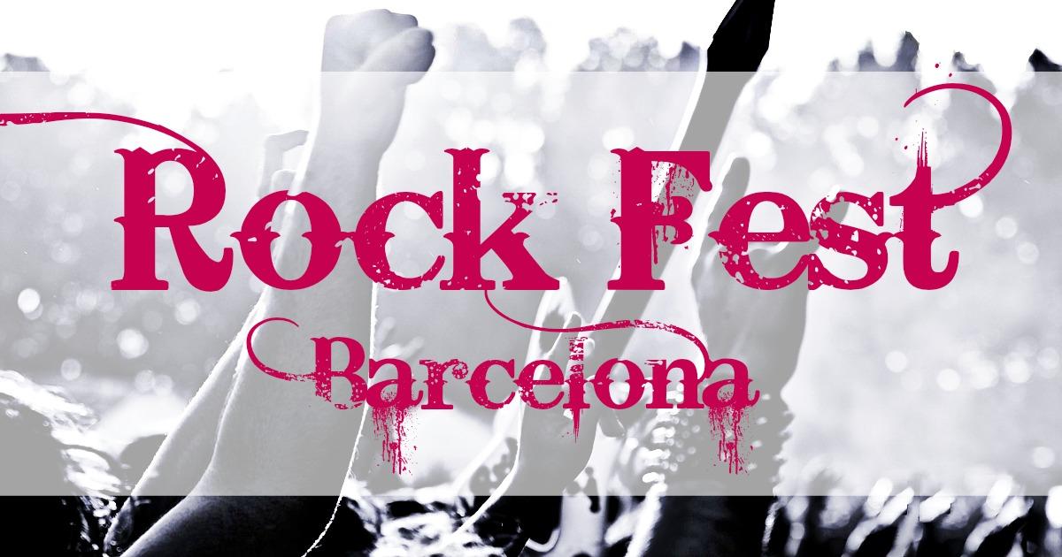 Рок Фестиваль Барселоны 2017