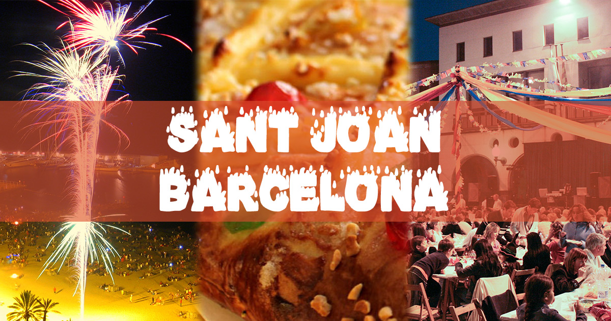 Notte di San Juan a Barcellona 2017