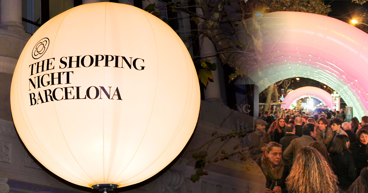 Shopping night Barcelone 2017