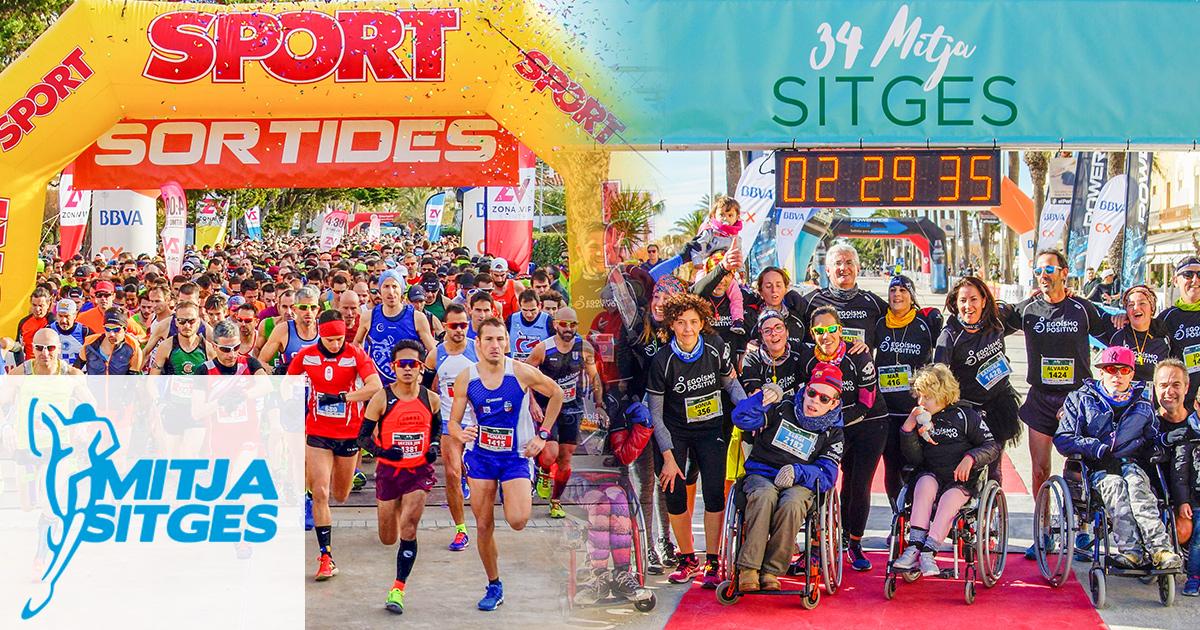 Półmaraton w Sitges