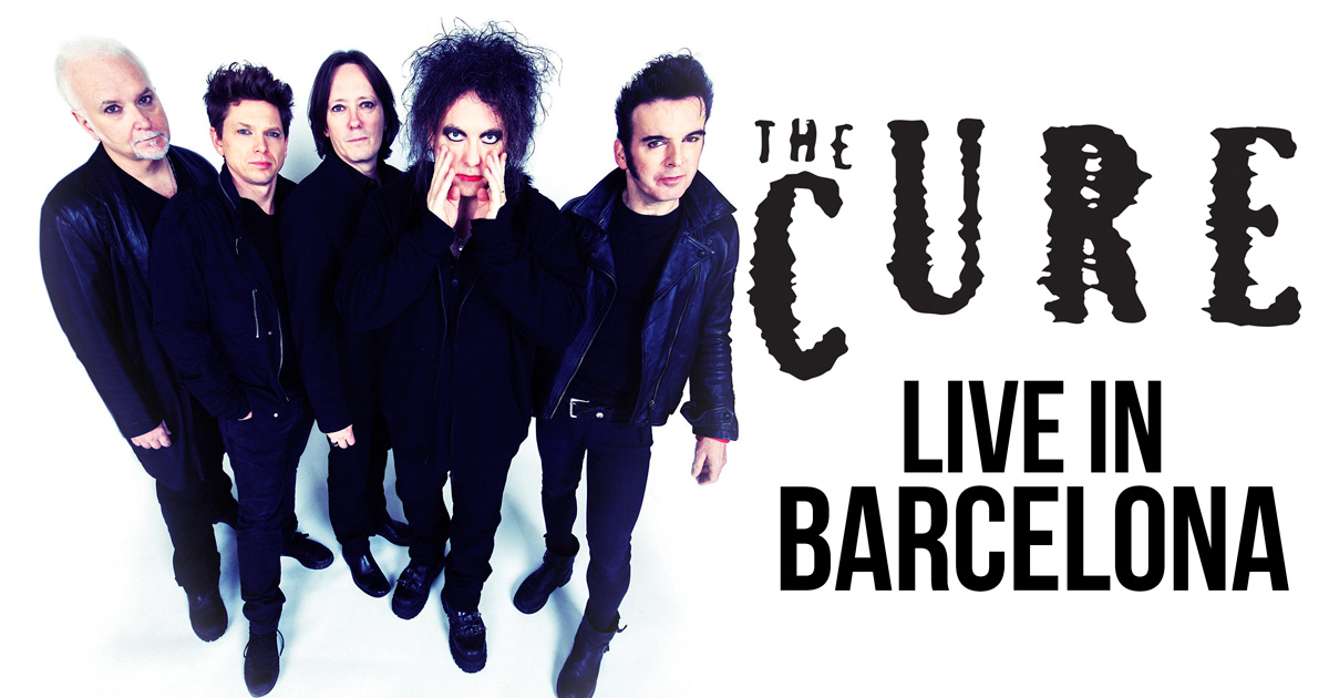 The Cure en concert à Barcelone en 2016!