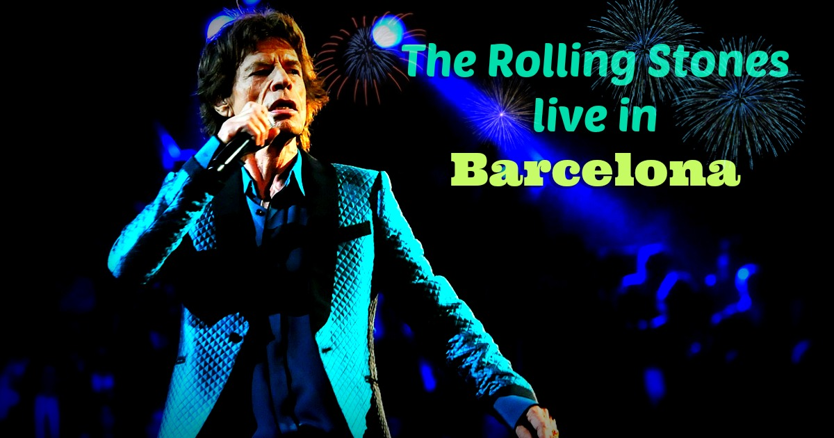 The Rolling Stones live a Barcellona