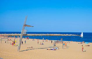 Пляж Сант Себастьян ☀
