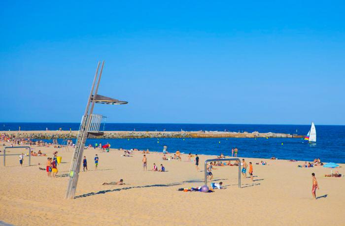 Stranden Sant Sebastià