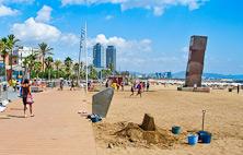 Spiaggia della Barceloneta ☀