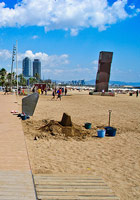 Barceloneta strand