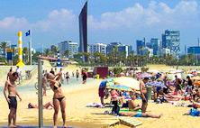 Bogatell beach