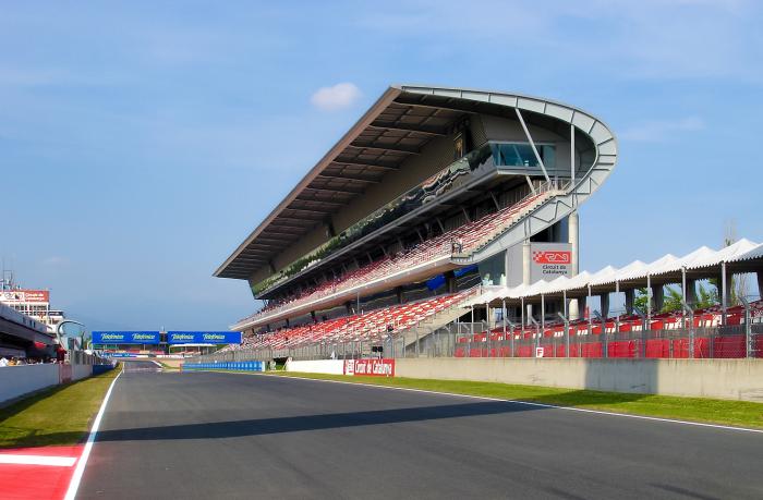 Formule 1 circuit van Catalonië