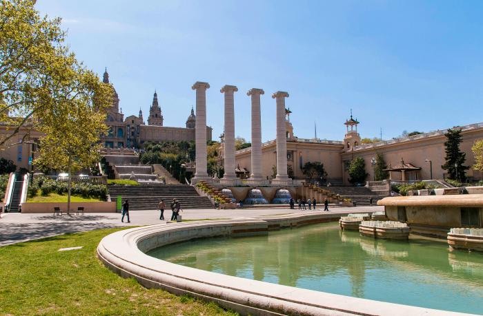 Het park van Montjuïc