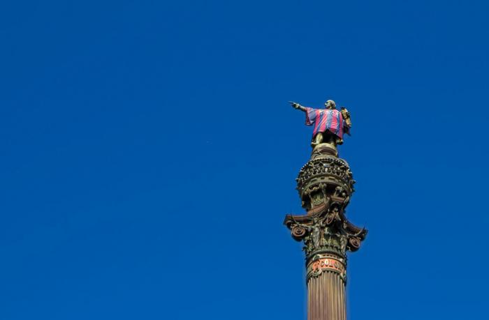 Статуя Коломба