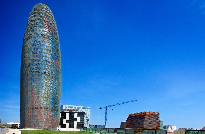 Torre Agbar, AGuas de BARcelona!