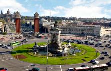 Plaza de España eller Plaça de Espanya