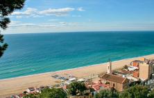 Montgat beaches