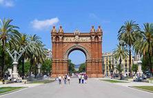 L'Arc de Triomf eller Arco del Triunfo på spanska