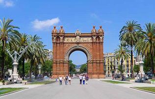 Arc del Triomf en Barcelona