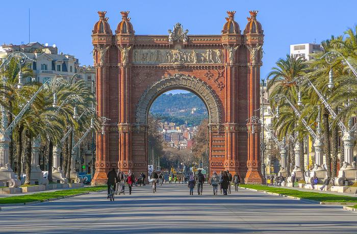 Триумфальная Арка Барселоны