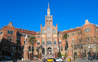 Sant Pau Krankenhaus