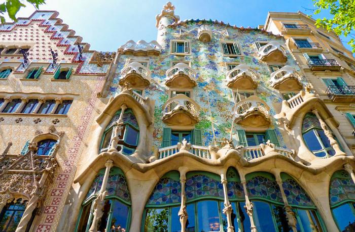 La casa batll guide barcelone - Art nouveau architecture de barcelone revisitee ...