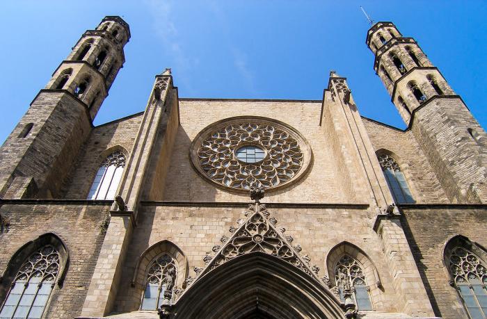 Basilika von Santa Maria Del Mar