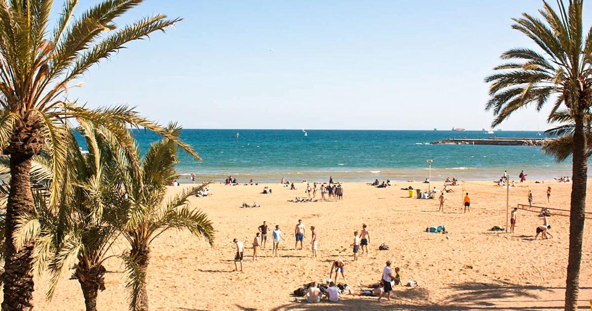Пляж Соморростро