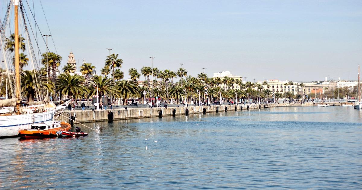 Port Vell i Barcelona