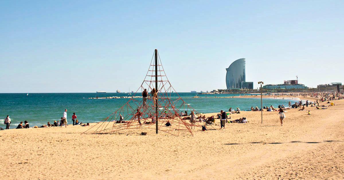 Kennst Du Schon Den Sant Sebastia Strand In Barcelona