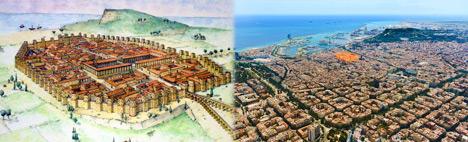 Från Barcino till Barcelona: 2000 år av historia