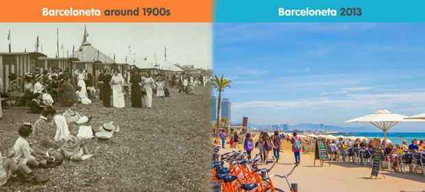 La Barceloneta - Now and Then