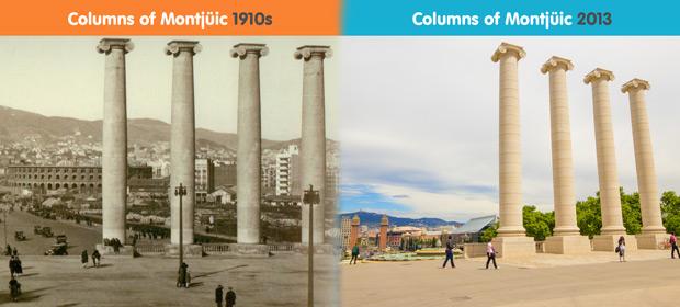The Columns of Montjuic