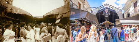 History of La Boqueria in Barcelona