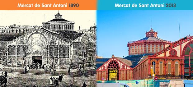 De markt van Sant Antoní