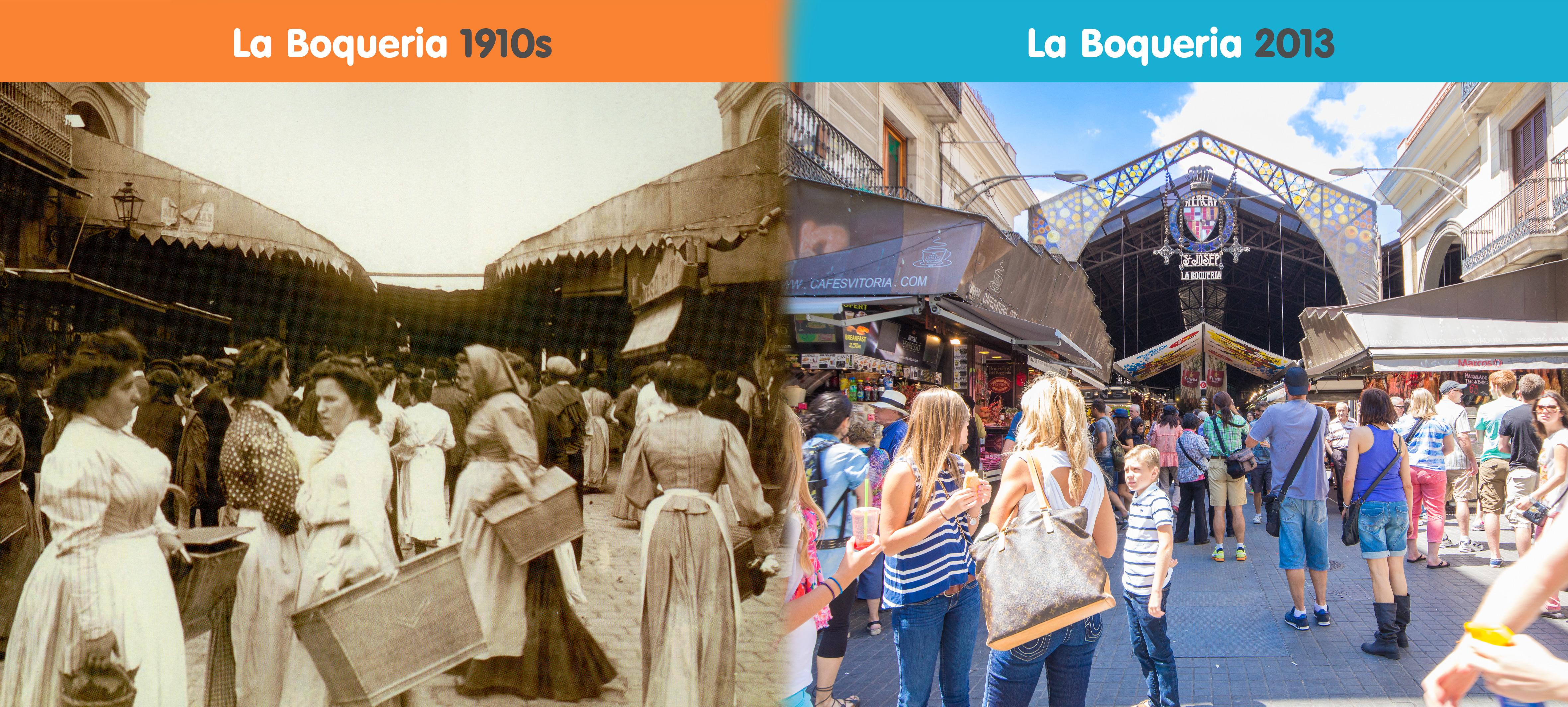 La Boqueria Since 1217