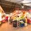La Boqueria-marknaden bredvid lägenhet