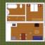 Appartement-Grundriss