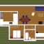 Appartement lay-out